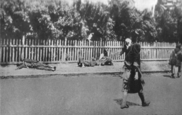 Bodies on the street - Ukraine Genocide - Holodomor