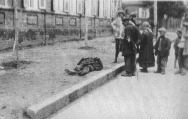 Dead Body on Street