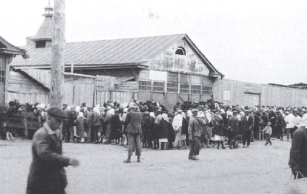 Ration Food Line - Ukraine Genocide - Holodomor 1932